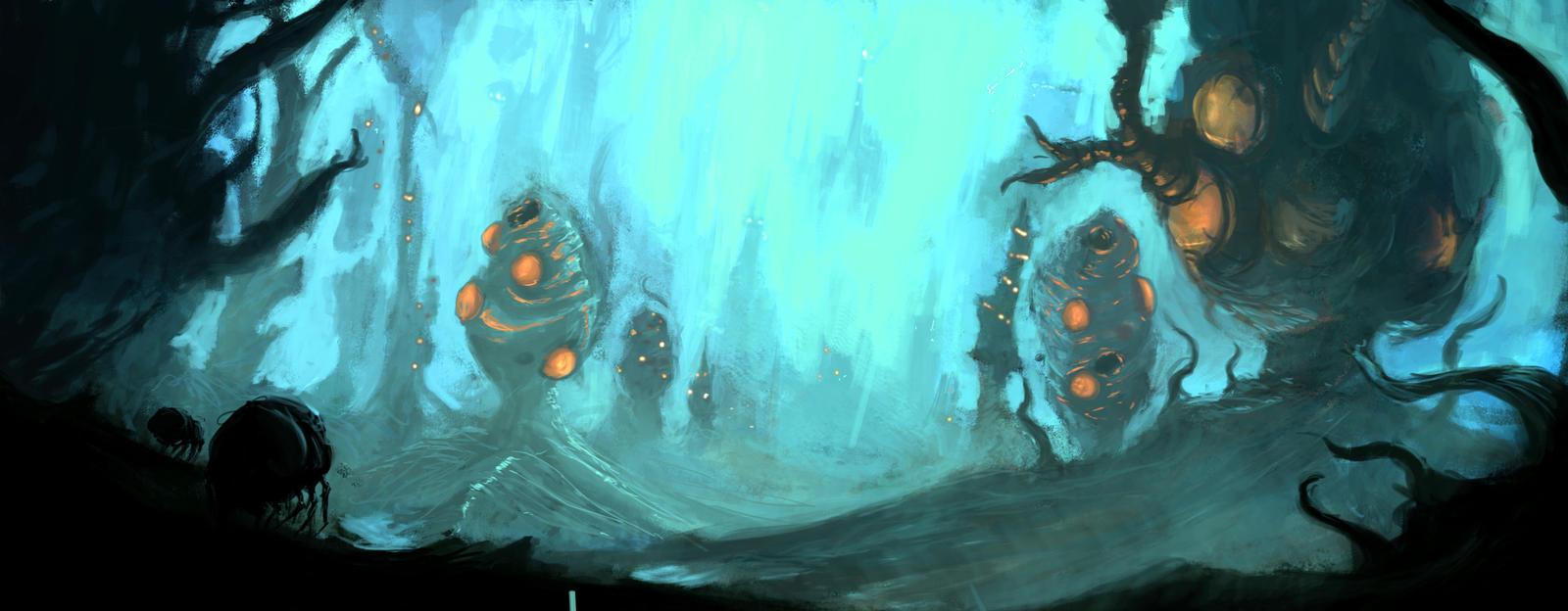 Alien Pods by Goottipoju