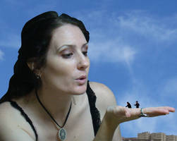 Gentle mature giantess
