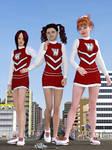 Giant cheerleaders 1 by Alberto62