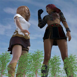 Giant warriors