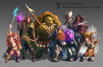 DnD Six Member Party Commission