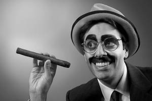 Groucho cigar by impureacts