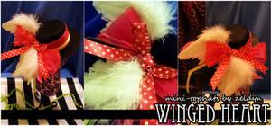 Winged Heart -mini top-