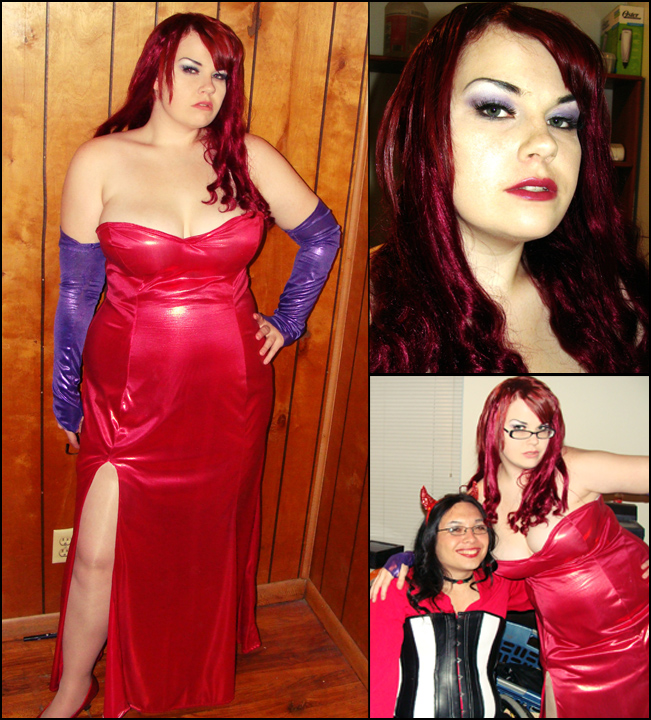 Jessica Rabbit -costume- by zeldyn ...  sc 1 st  DeviantArt : roger the rabbit costume  - Germanpascual.Com