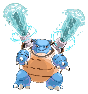 Blastoise by WhiteRum