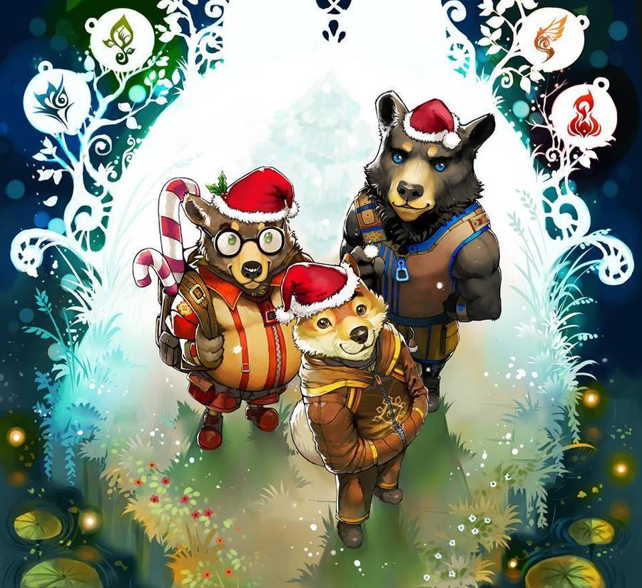 Sanctum Polis -Happy Holidays!- by WhiteRum