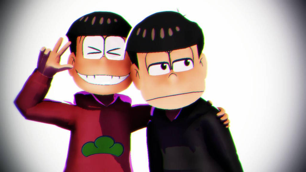 SAY CHEESE! (MMD Osomatsu-san) by Heart-The-Legend
