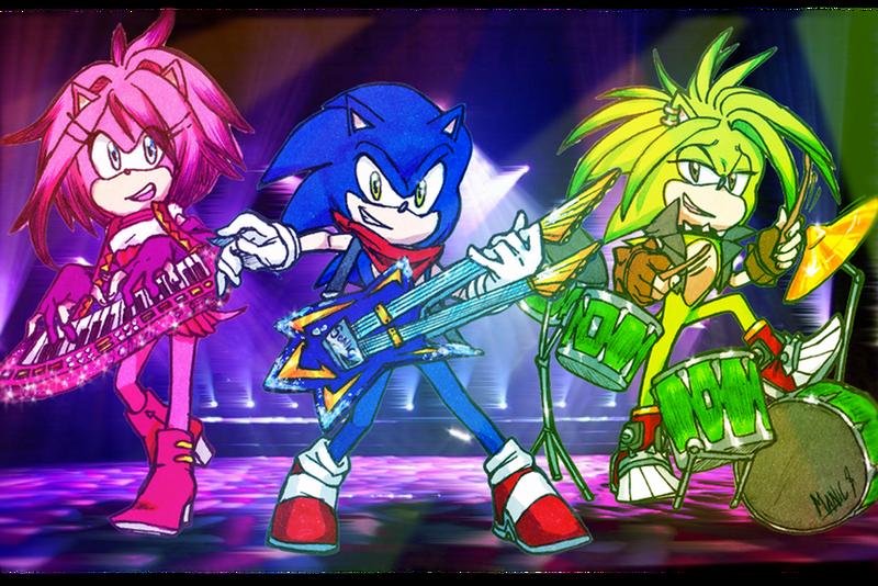 Sonic Underground Tribute By Dawnhedgehog555 On Deviantart