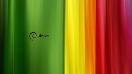 Debian stripes HD 1920x1080