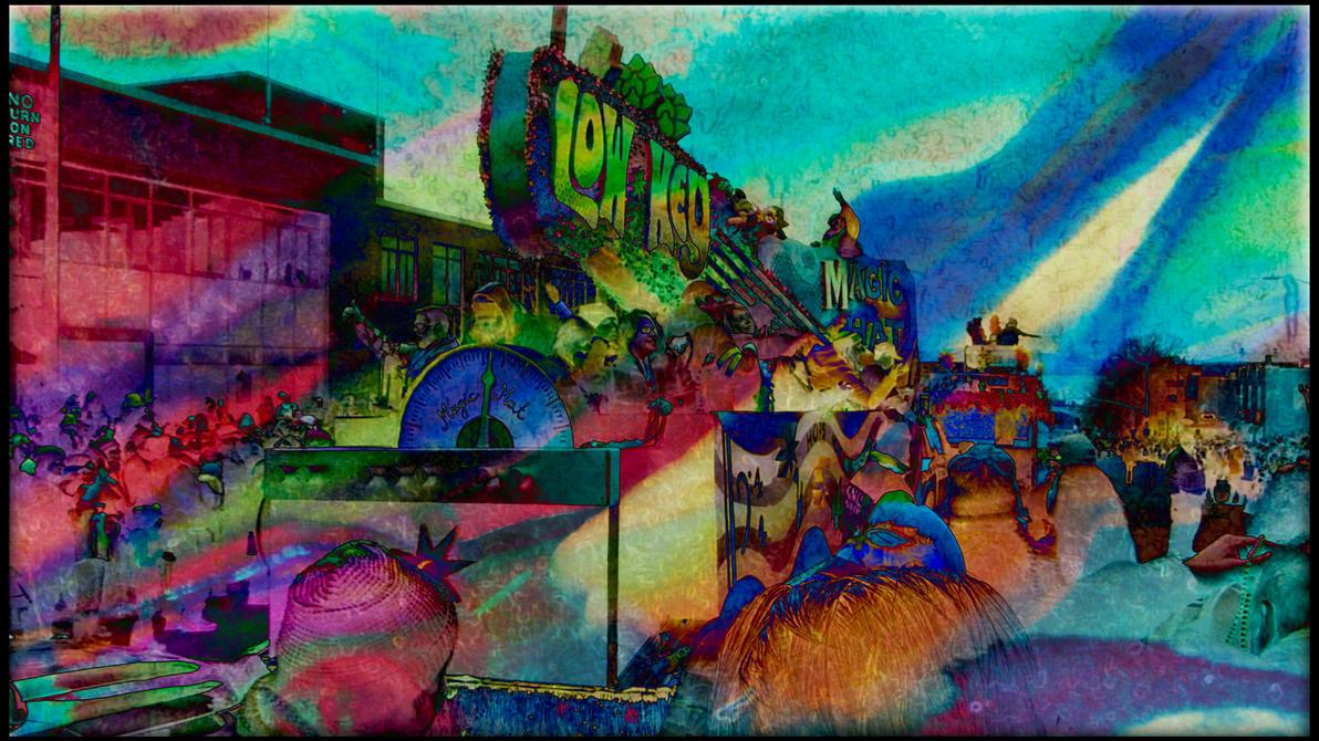 Mardi Gras Burlington by evoticart