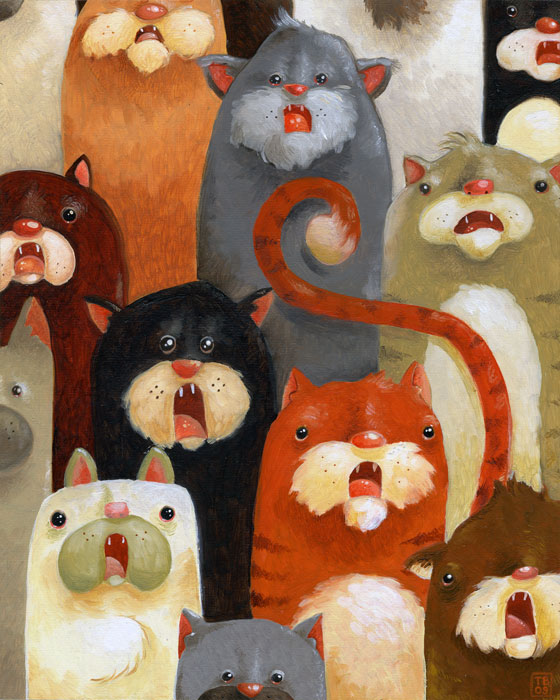 Cats Cats Cats by TimBeard