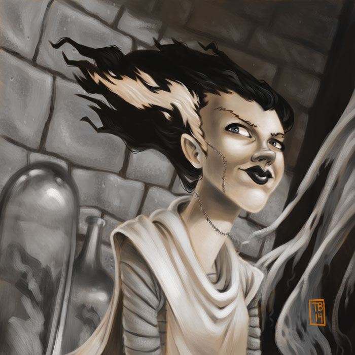 Bride of Frankenstein by TimBeard