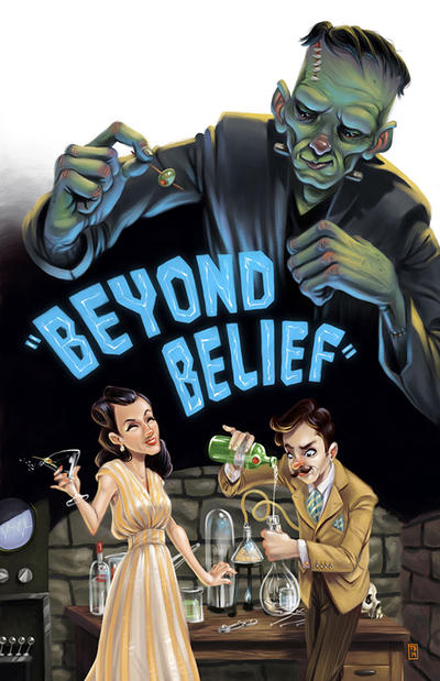 Beyond Belief Poster by TimBeard