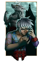 Castlevania: LoD N64 Tribute - Blue Crescent Moon by MandarinSwift