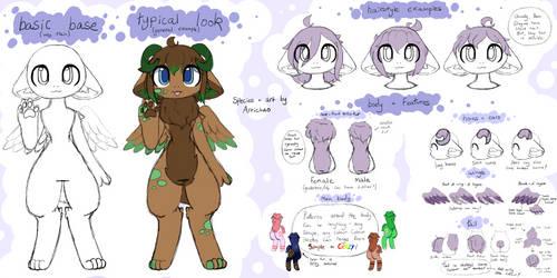 Yam Dragon Species Sheet