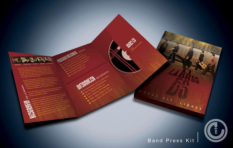band epk template - band press kit design breathing exercises for singing