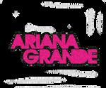 Texto PNG Ariana Grande