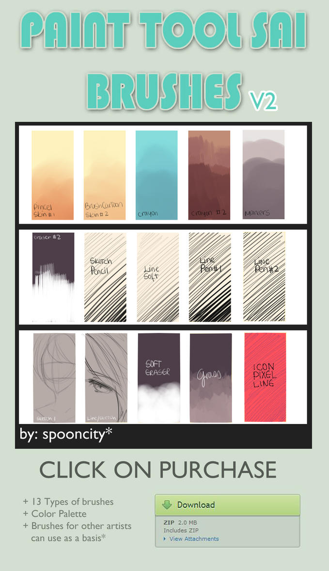 Brushes for SAI V2 by spooncity