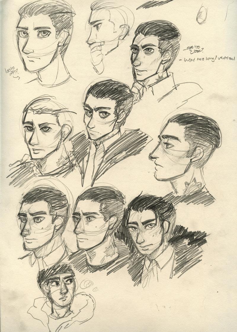 Detective Loki Prisoners Haircut