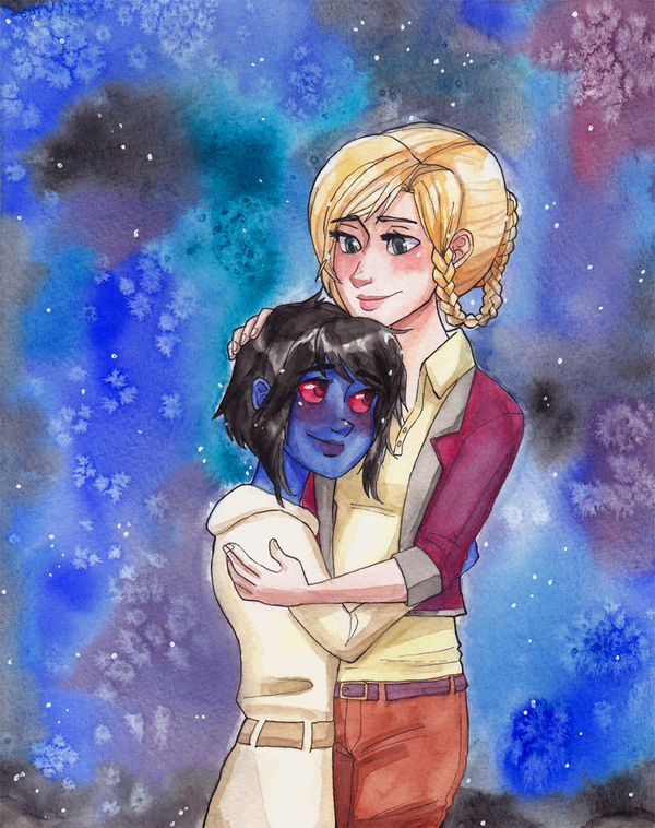 C: A Galaxy of Our Own by maybelletea