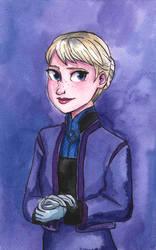 Teen Elsa by maybelletea
