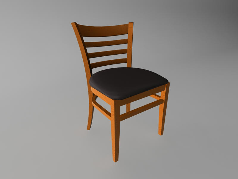 chair with 3ds max by blyzzt on deviantart