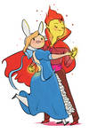 Formal Time with Fionna and Flame Prince!