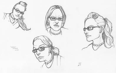 Sarah Character Studies