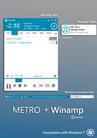 Metro Winamp Modern Skin by rodrigopill