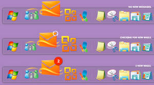 Live Mail Counter Rocketdock