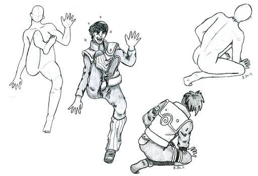 Sketch Batch, Naruto Style