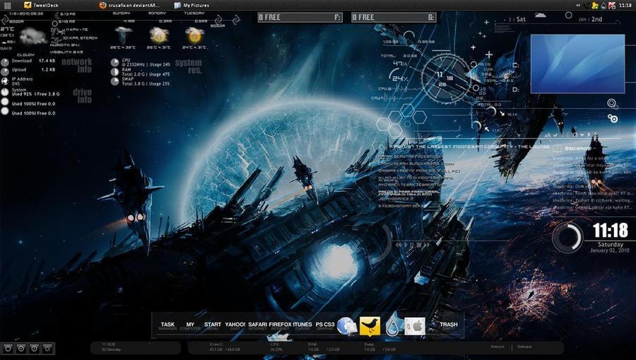 My Rainmeter Desktop