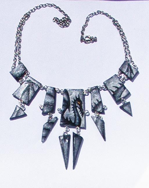 Dragon Necklace by dorashouldprint