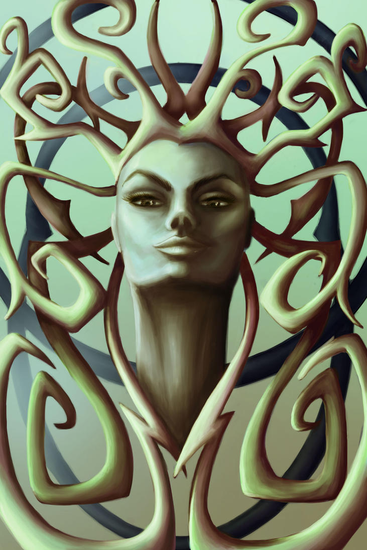 Gorgona Medusa by dorashouldprint