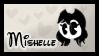Mishelle (fan) stamp by FuntimeNamiko