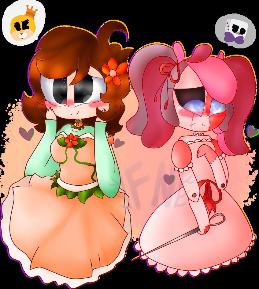 . : two lil cutie : . by FuntimeNamiko