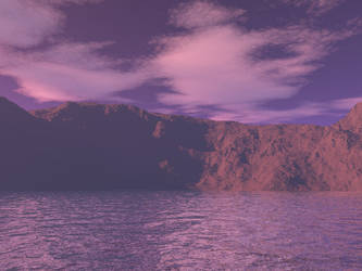 first terragen mountains by Beyond-The-Stars