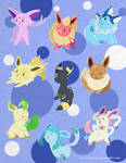 Eeveelution Keyrings 2013