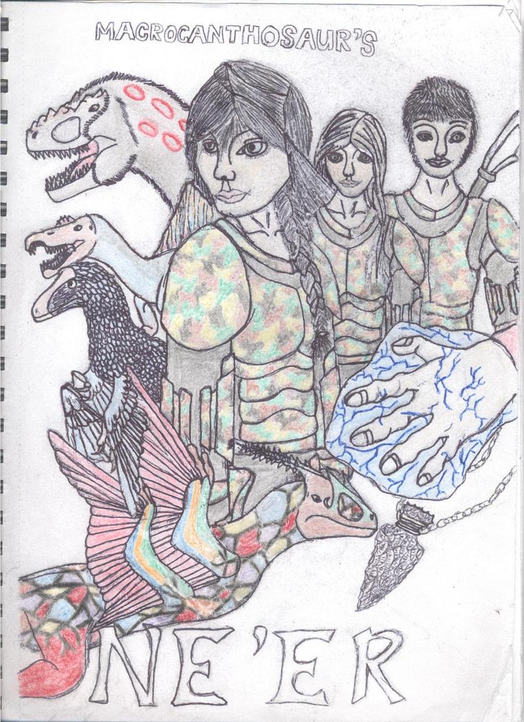 Macrocanthrosaurus's Ne'er: My book cover by Macrocanthrosaurus