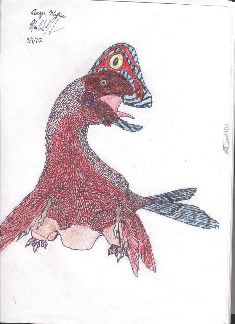 Anzu wyliei by Macrocanthrosaurus