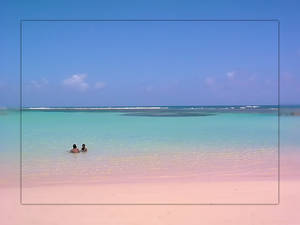 caribean sand beach