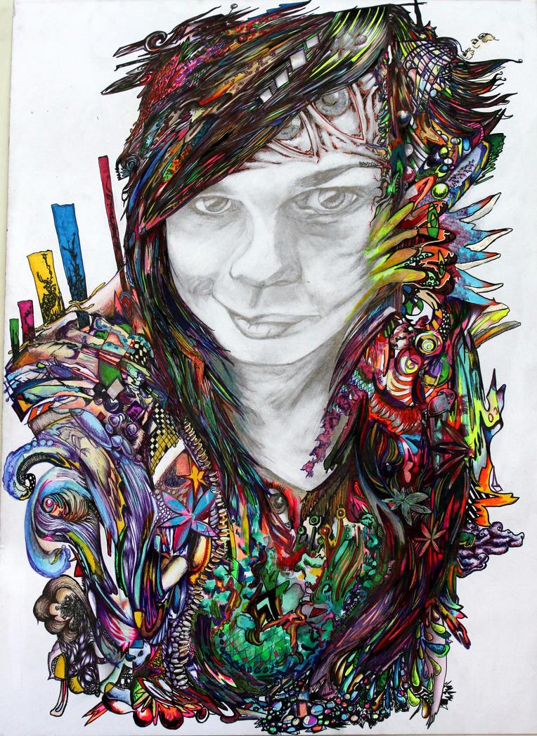teneal  style of minjae lee kinda by Davie-the-pen-artist