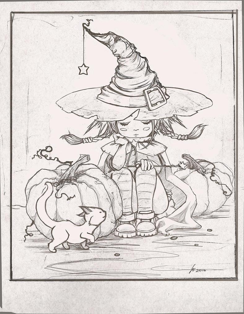 Little witch by SleepyMavka