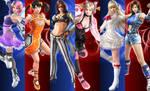 Tekken 7 girls HQ