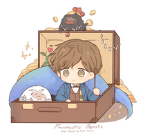fantastic beasts by RabiSan