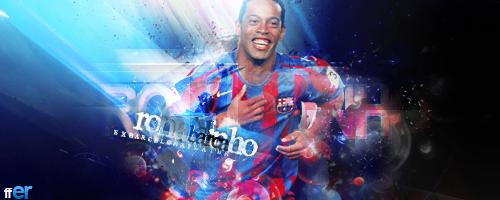 Ronaldinho Barca by SOCCERFANTASYARTV3