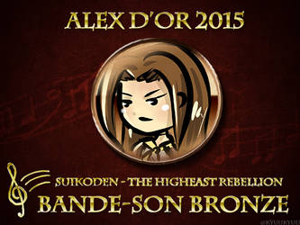 [Awards 2015] Bande Son Bronze (Kyuukyuu/Chaos17) by Alex-d-or