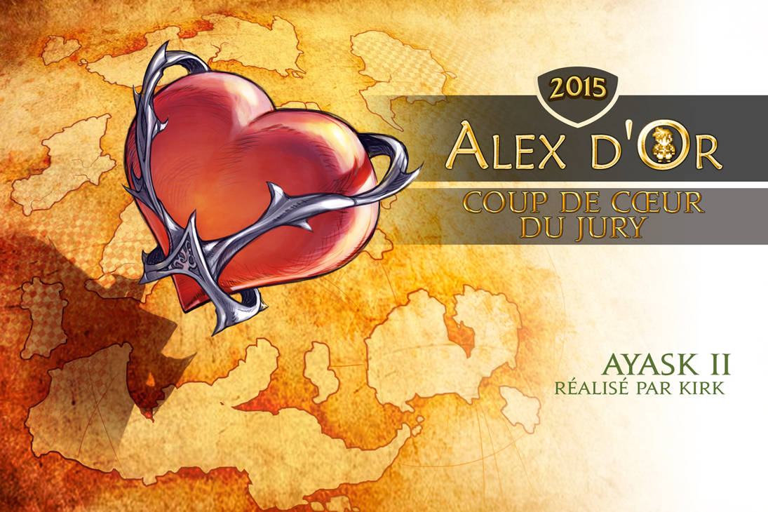 [Awards 2015] Coup De Coeur Du Jury (par Felwynn) by Alex-d-or