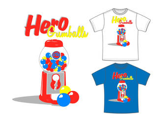Hero Gumballs by rCapili