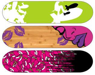 Skate Decks by rCapili